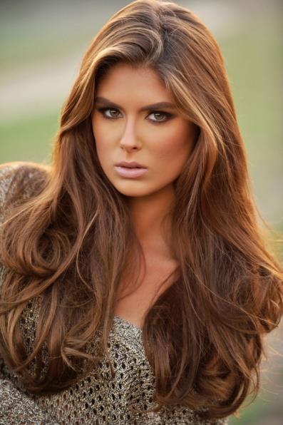 Теплые тона цвета волос фото