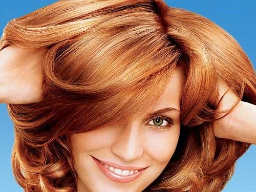 цвет волос фото карамель