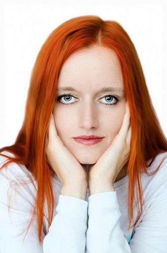 Рыжий цвет волос фото