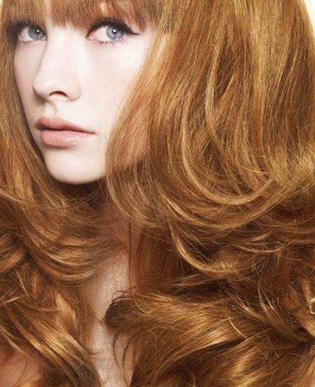 цвет волос карамельный фото