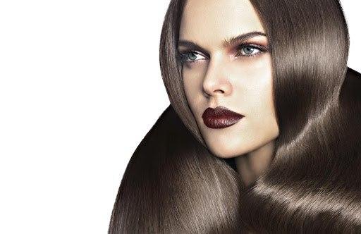 цвет волос каштановый